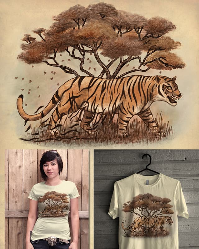 Autumn Tiger by igo2cairo on Threadless