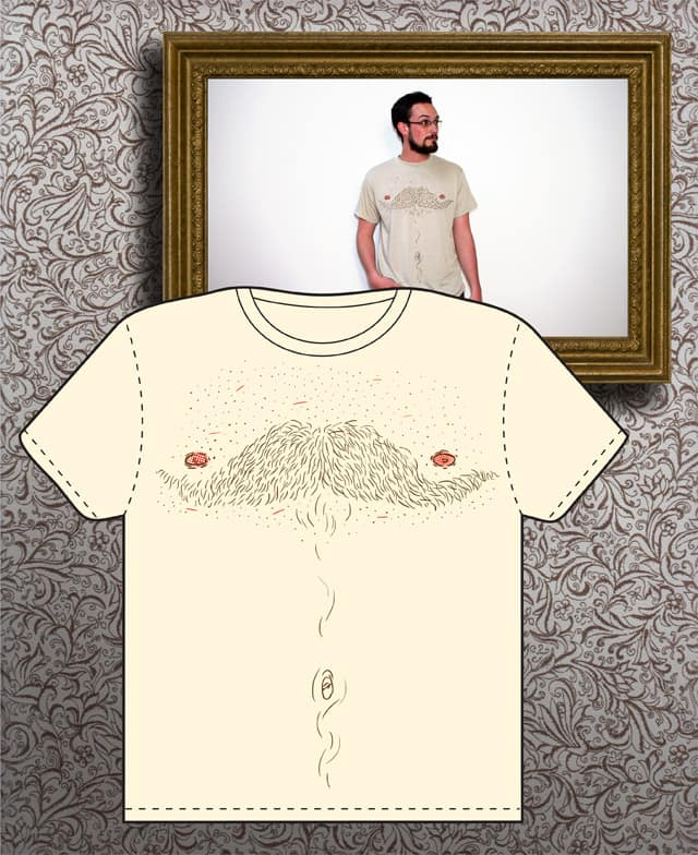 The Barefaced Gentleman's Only Option by el-rodente on Threadless