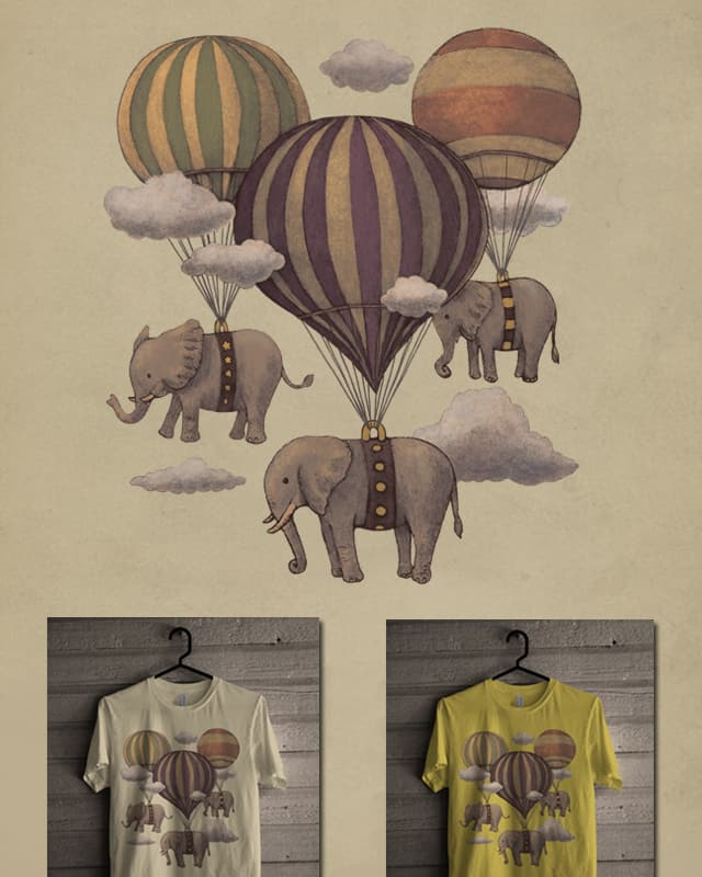 Flight of the Elephants by igo2cairo on Threadless