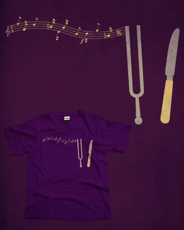 Tuning Fork by Red Rafael on Threadless