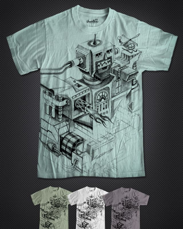 Cyborg Stronghold by pjbrick7 on Threadless
