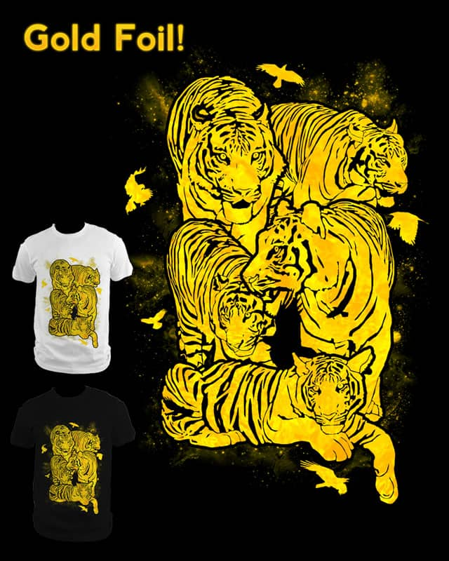 Birds and Tigers by tylerbramer on Threadless