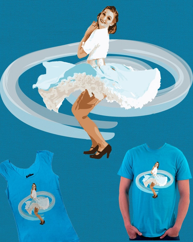 Spin-Up girl by BlackWatchJen on Threadless