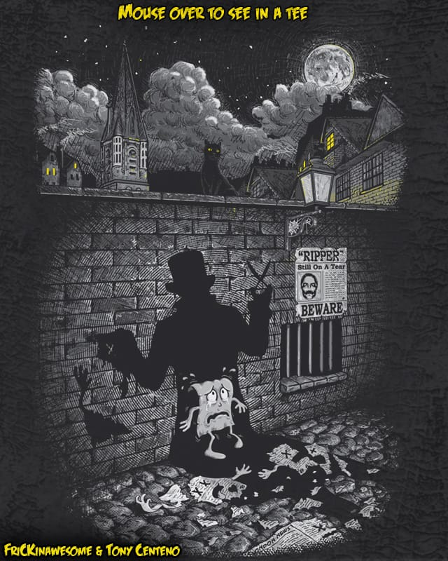 Jack The Paper Ripper by Tony Centeno on Threadless