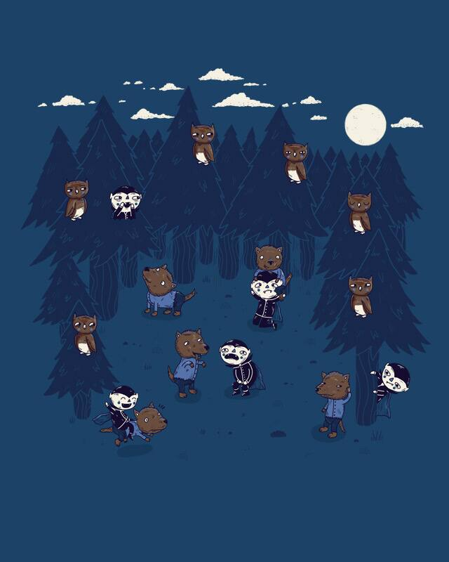 Twilight Fight by randyotter3000 on Threadless