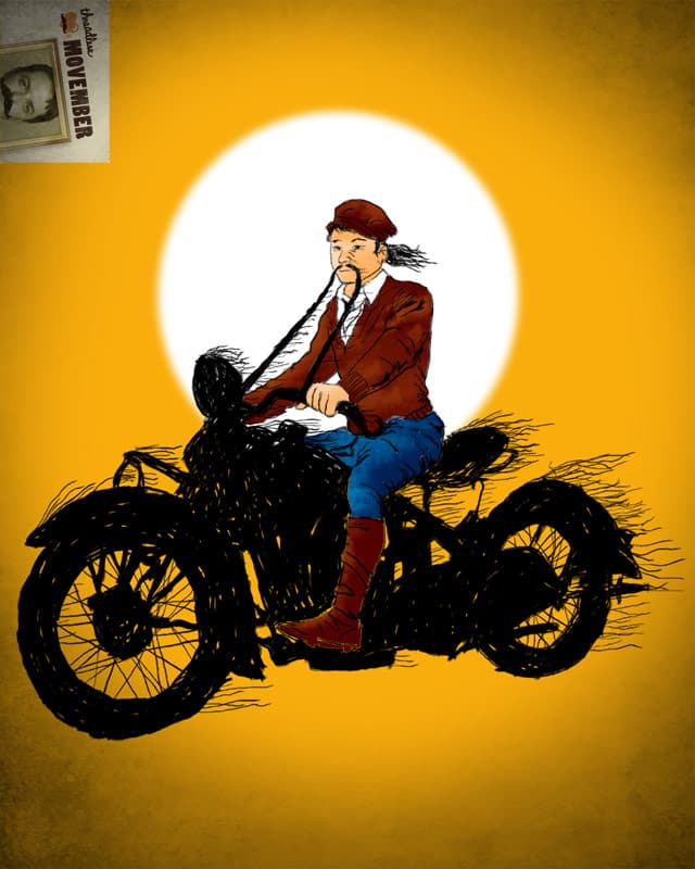 Mo Rider by kooky love on Threadless