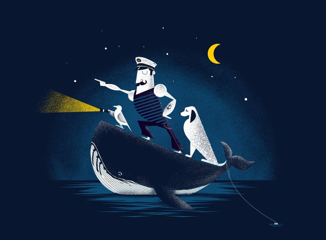 Sea Riders by joaolauro on Threadless
