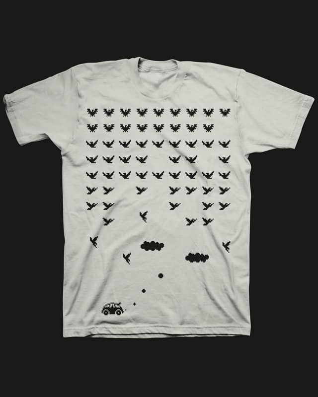 airspace invaders by rodrigomuller on Threadless