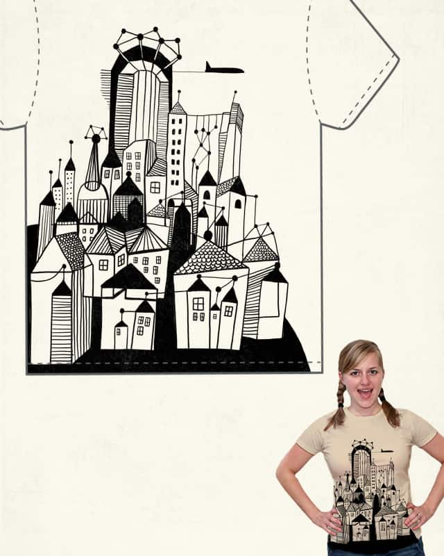 Behold! A town by Studd on Threadless