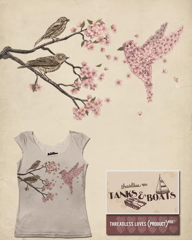 Blossom Bird by igo2cairo on Threadless