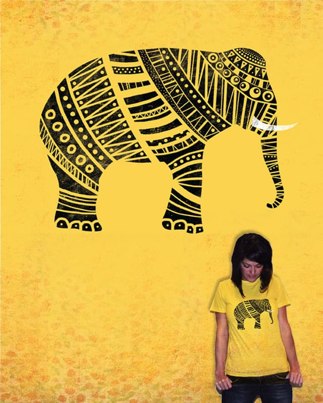 Endangered elephant by Farnell on Threadless