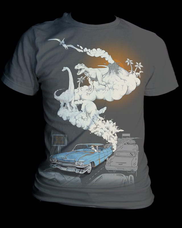 Fossils Refueled by jillustration on Threadless