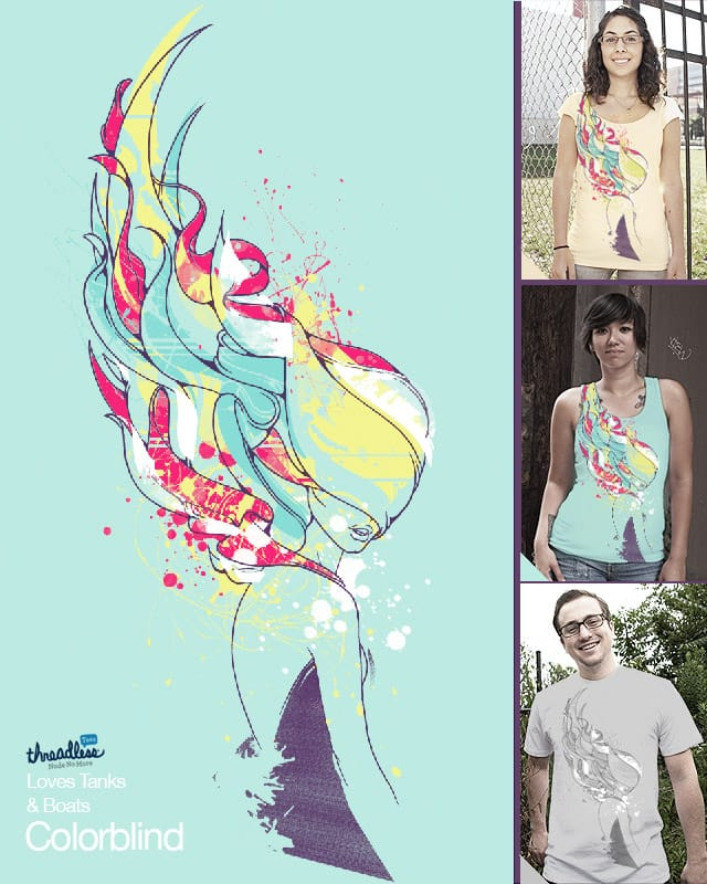 Colorblind by anwarrafiee on Threadless