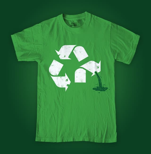 Green Sickness by buko on Threadless