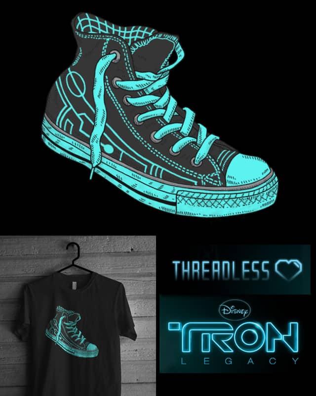 Tron Chuck by igo2cairo on Threadless