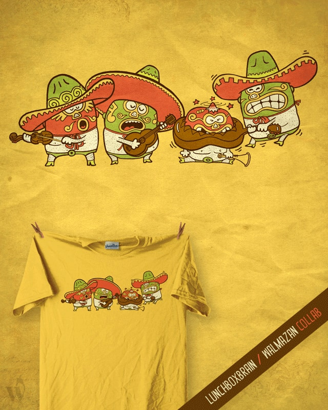 Macho Mariachi by lunchboxbrain on Threadless
