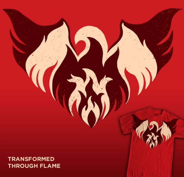 Transformed Through Flame by WanderingBert on Threadless