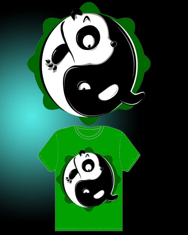 natural yin-yang by ibaitxo on Threadless