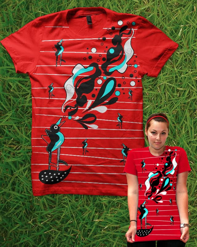 Birds by dandingeroz on Threadless