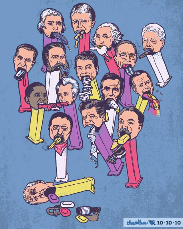 Pezidents of the United States by wytrab8 on Threadless