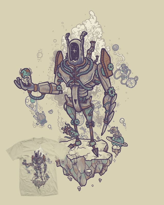 The ancient collector by Demented on Threadless