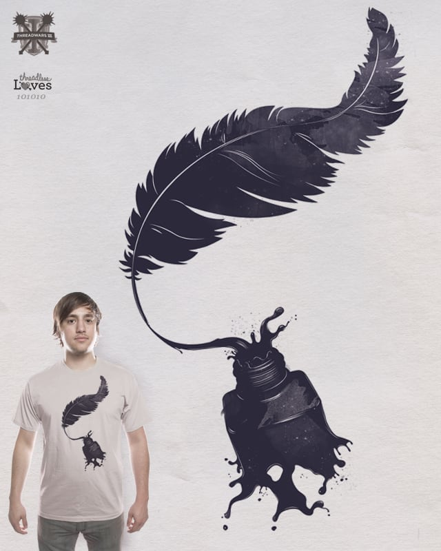 Leaving its mark by DanielTeixeira on Threadless