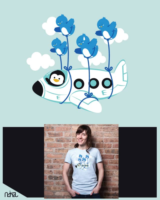 fly away by ndikol on Threadless