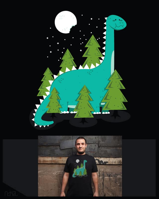 5 minutes before the new moon by ndikol on Threadless