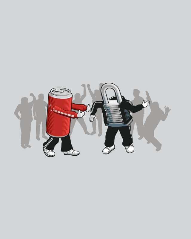 Poppin and Lockin by nathanwpyle at gmail.com on Threadless