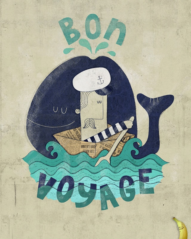 Bon Voyage by DaleEdwin on Threadless
