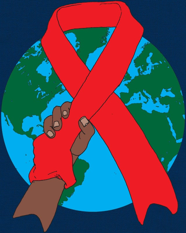 World AIDS Awareness by BlackWatchJen on Threadless