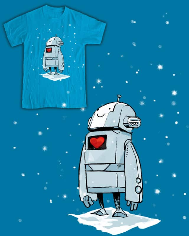 Lil Robot by spyyderray on Threadless