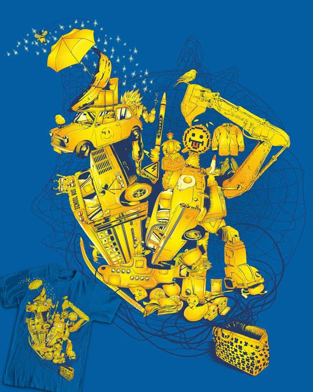 Yellow Bag by rompetelcuero on Threadless