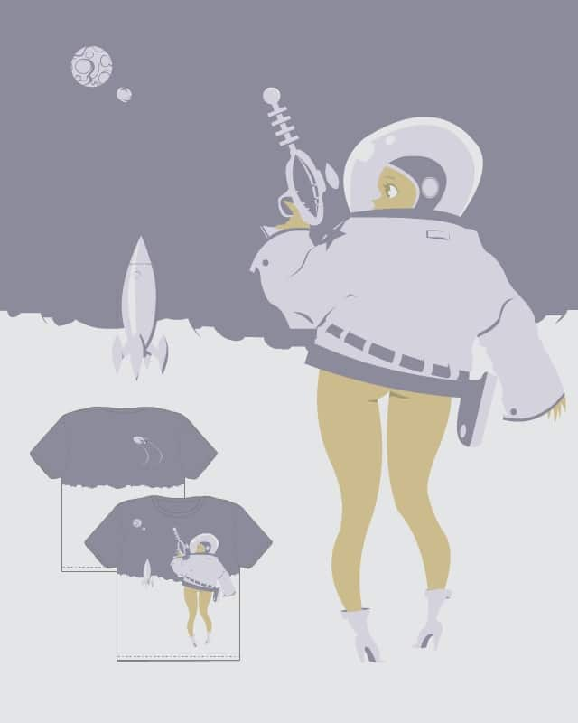 space-girl by GadYariv on Threadless