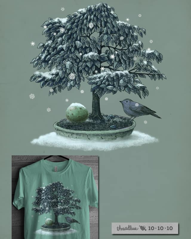 Snow Bird by igo2cairo on Threadless