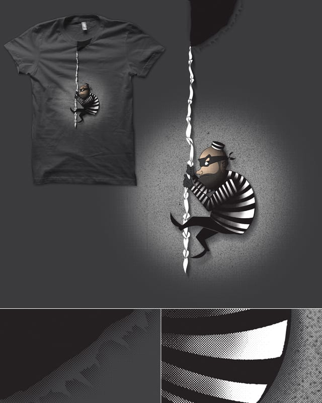 Jail Break by deep space monkey on Threadless