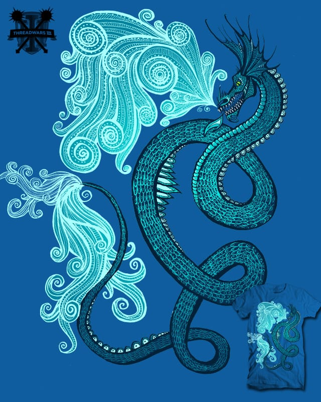 Ice Serpent by HorsefaceDee on Threadless
