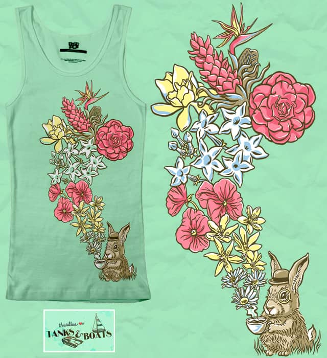 An Exquisite Floral Bouquet by herky on Threadless
