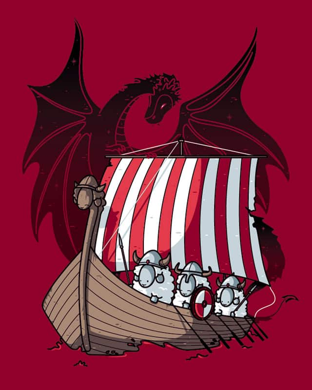 Vikings by Recycledwax on Threadless