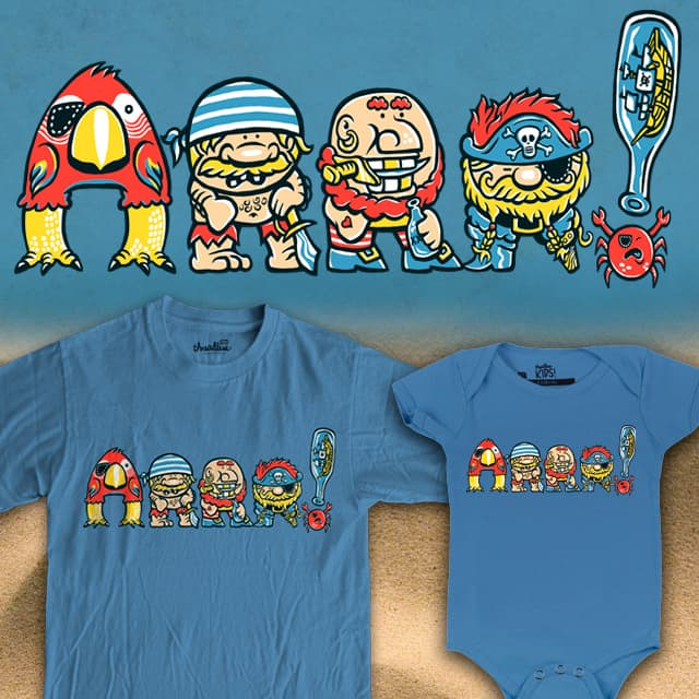 ARRR! by herky on Threadless