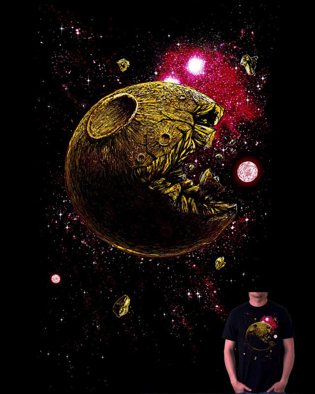 pac-moon by choubaka360 on Threadless