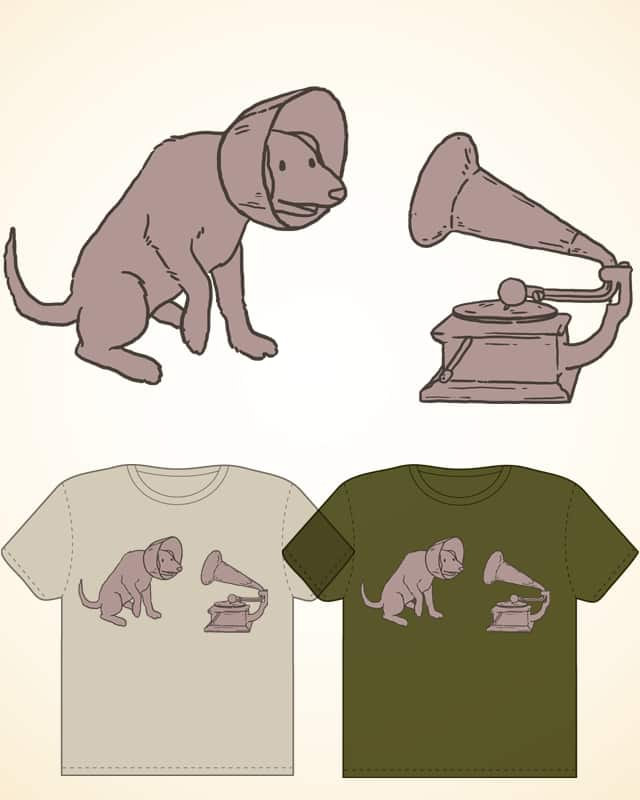 Phonodog by cosmonautscott on Threadless
