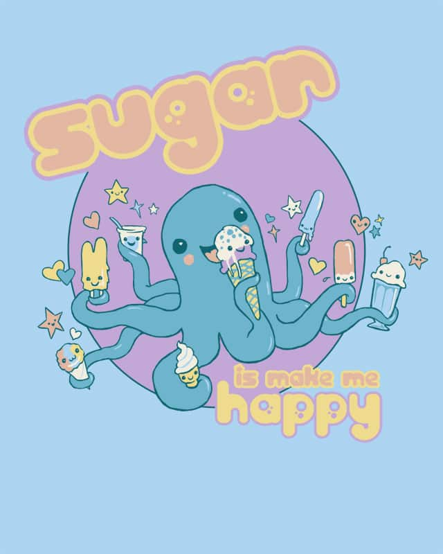 Sweet, Sweet Sugar by artistaggie on Threadless