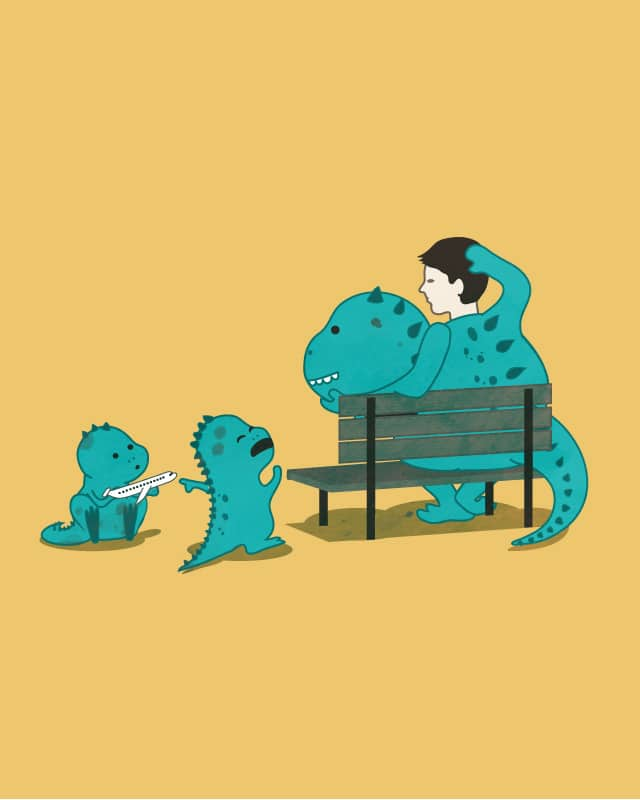 Single Parent Mascot by wawawiwa on Threadless