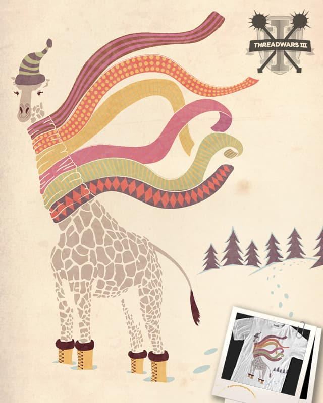 The Snow Giraffe by thegoodpope on Threadless