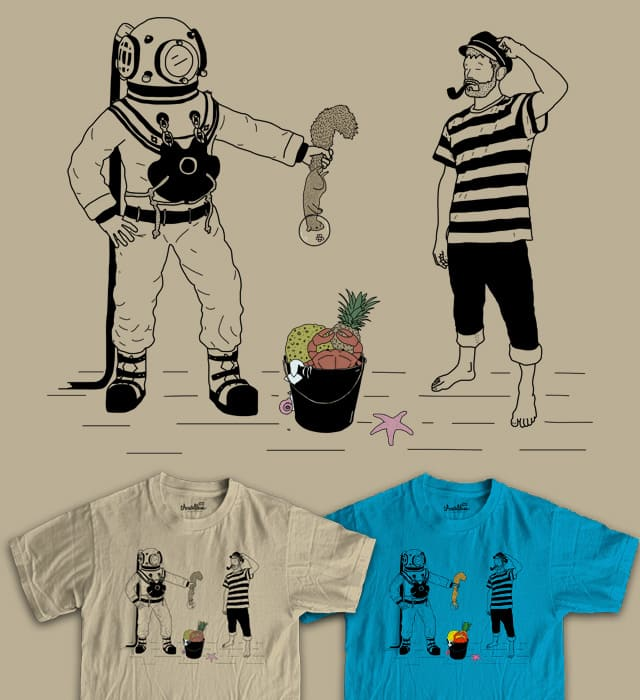 Catch Of The Day by TeoZ on Threadless