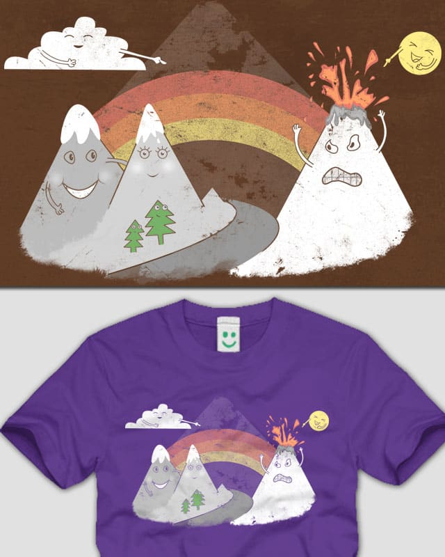 Volcano Fact by addu on Threadless