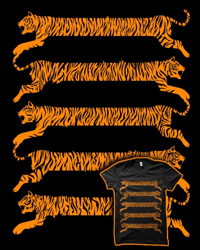 Tiger Stripes by biotwist on Threadless