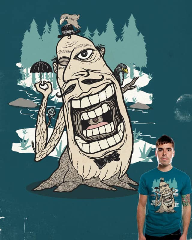 smile like tree spirit by edgarscratch on Threadless