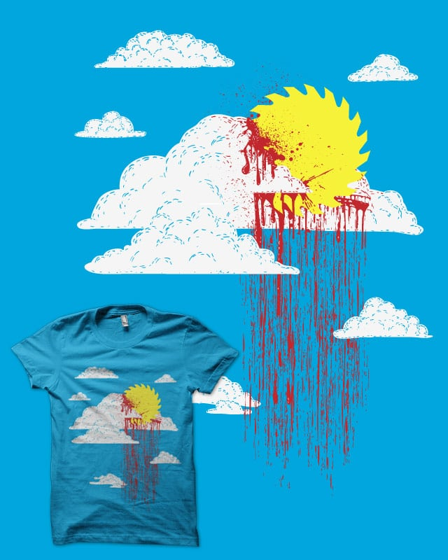 From a Lacerated Sky by biotwist on Threadless